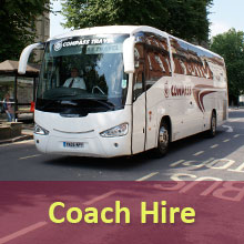 Coach Hire Services from Compass Travel