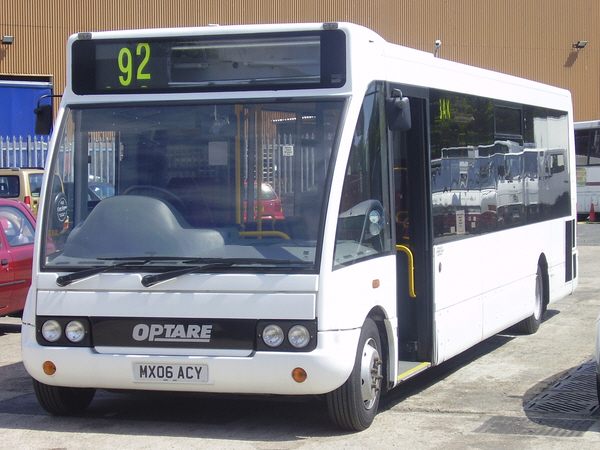 Optare Solo Bus Mx06acy