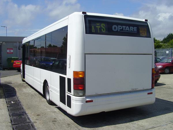 Optare Solo Bus Mx06acy_rear