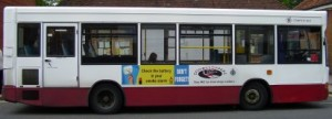 Bus and Coach Advertising Side Bus Advert