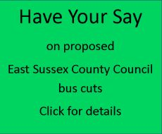 Have your say on ESCC bus cuts