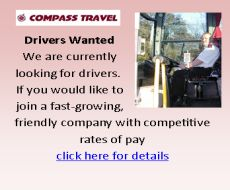 Advert for Drivers for Compass travel