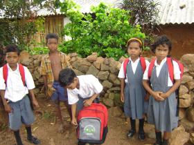 Compass Charity Children of the Jisu Prem English School