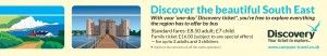 Discover the South east with Discovery Ticket