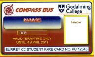godalming pass sample