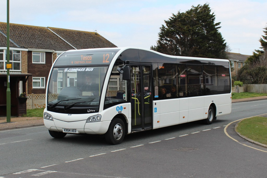 COMPASS TRAVEL KX64AED, SEA LANE, RUSTINGTON, 23-3-15, C BAKER