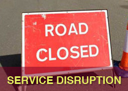 Bus and Route Service Disruption