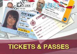 Bus Tickets and Passes