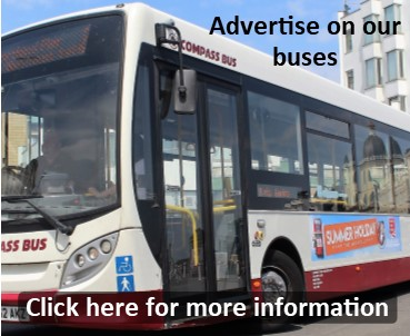 Advertise with Compass Bus