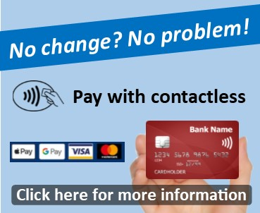 Pay with Contactless on Compass Bus