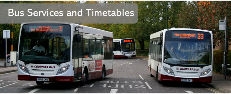 Compass Bus Timetables Services