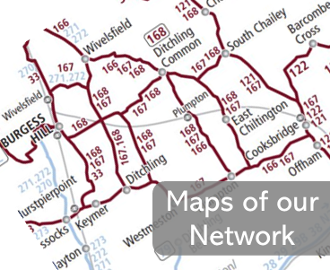 Compass Bus Network Maps