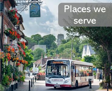 Places Compass Bus Serve