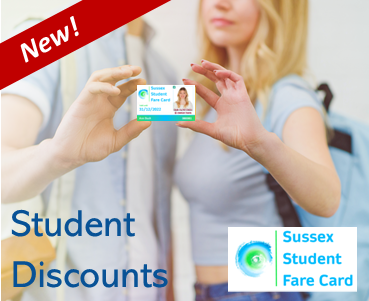 Sussex Student Fare Card Student Discounts